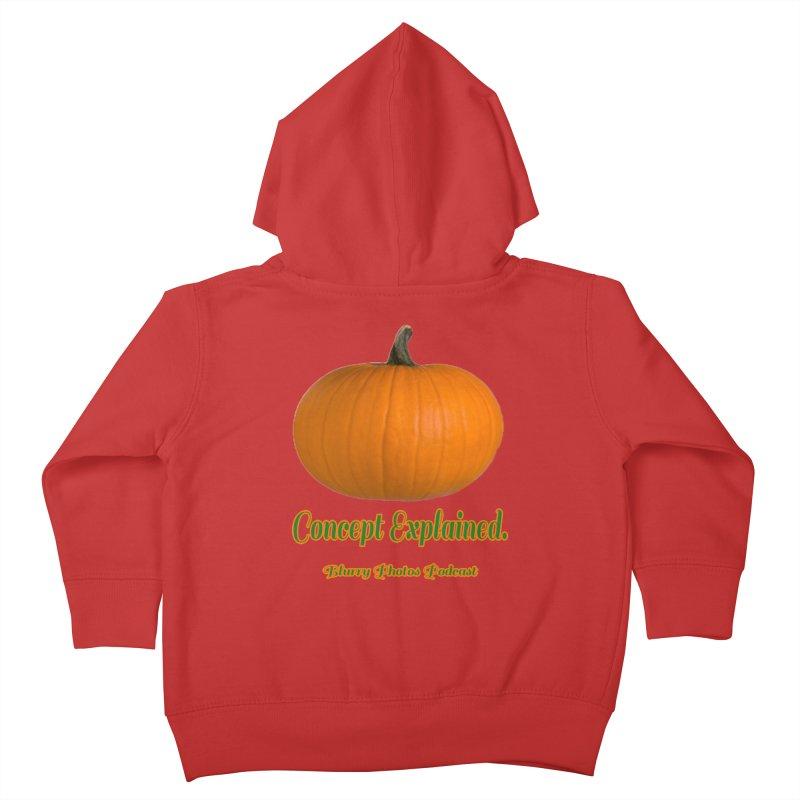 Pumpkin Explanation Kids Toddler Zip-Up Hoody by Blurry Photos's Artist Shop