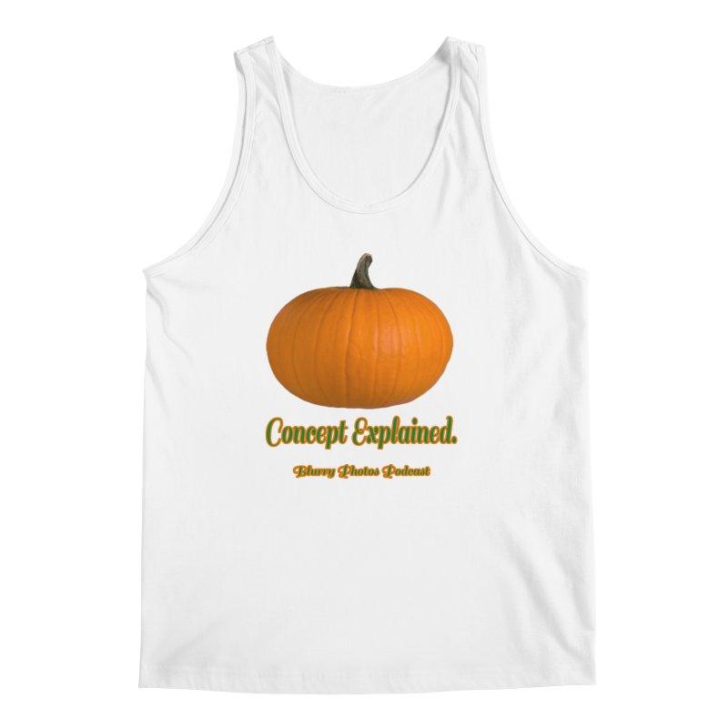 Pumpkin Explanation Men's Regular Tank by Blurry Photos's Artist Shop