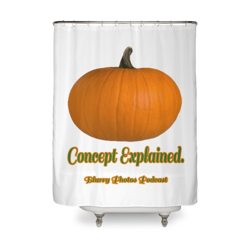 Pumpkin Explanation Home Shower Curtain by Blurry Photos's Artist Shop