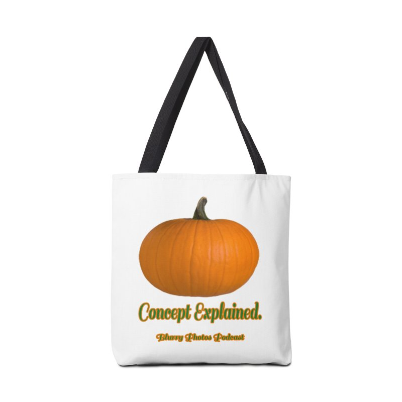 Pumpkin Explanation Accessories Tote Bag Bag by Blurry Photos's Artist Shop