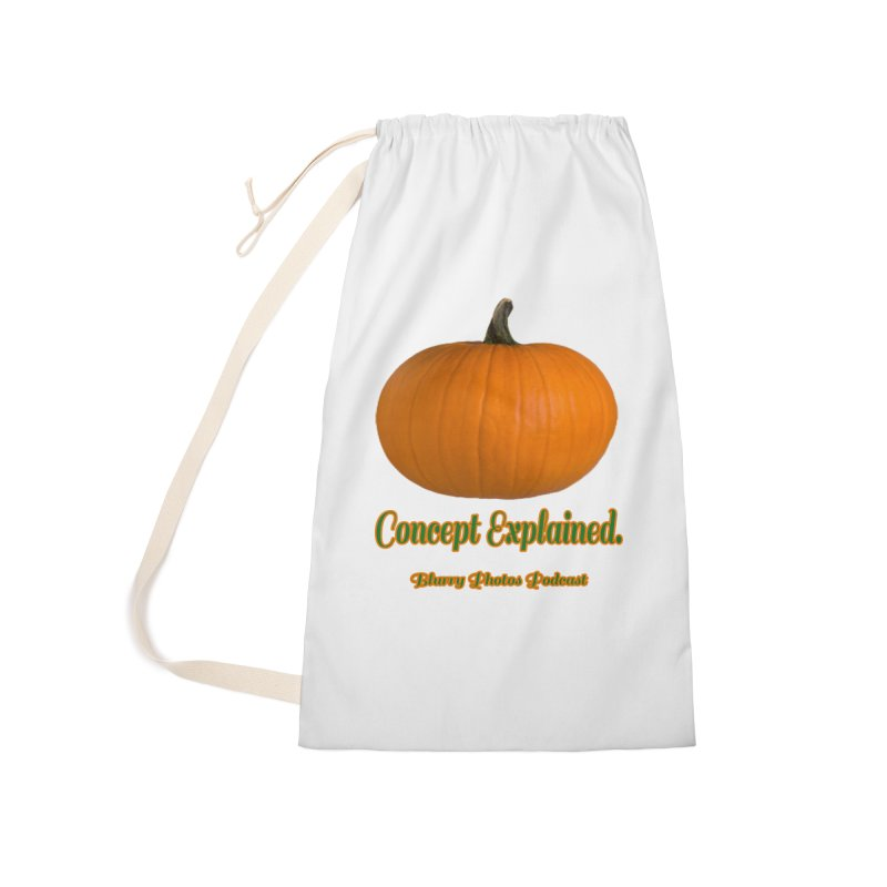 Pumpkin Explanation Accessories Bag by Blurry Photos's Artist Shop