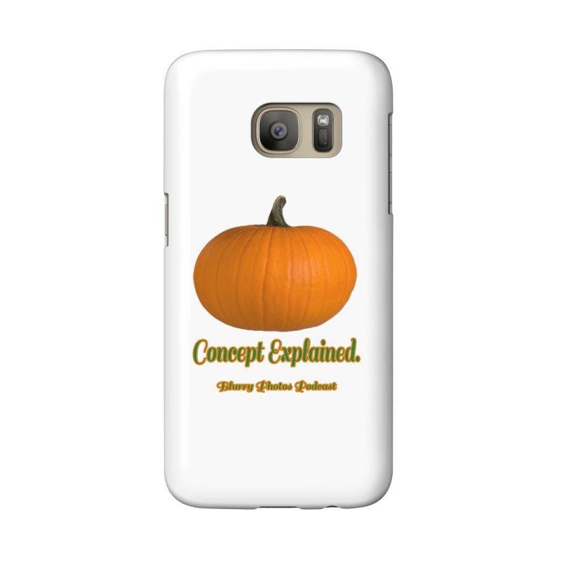 Pumpkin Explanation Accessories Phone Case by Blurry Photos's Artist Shop