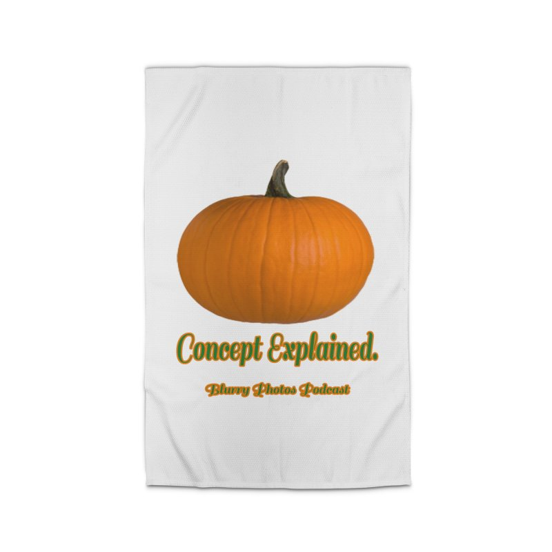 Pumpkin Explanation Home Rug by Blurry Photos's Artist Shop