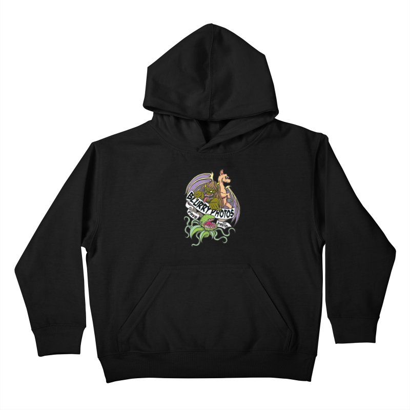 Color Logo Kids Pullover Hoody by Blurry Photos's Artist Shop