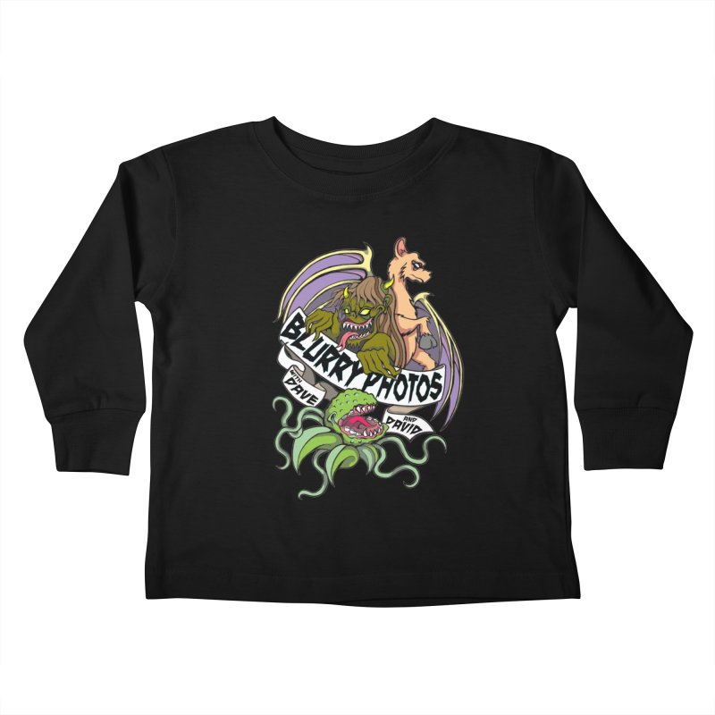 Color Logo Kids Toddler Longsleeve T-Shirt by Blurry Photos's Artist Shop