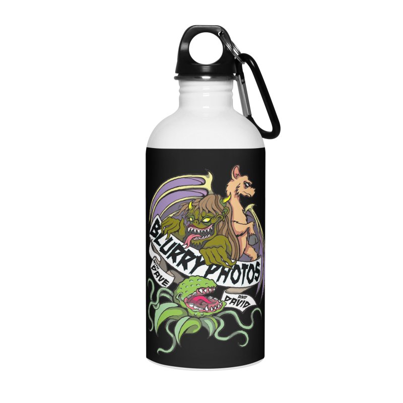Color Logo Accessories Water Bottle by Blurry Photos's Artist Shop