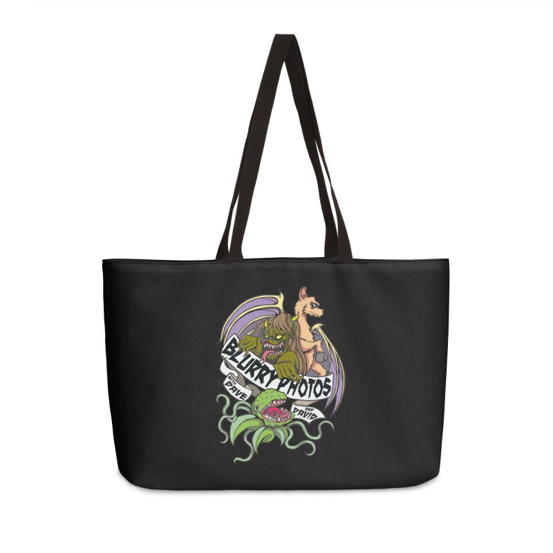 Color Logo Accessories Weekender Bag Bag by Blurry Photos's Artist Shop