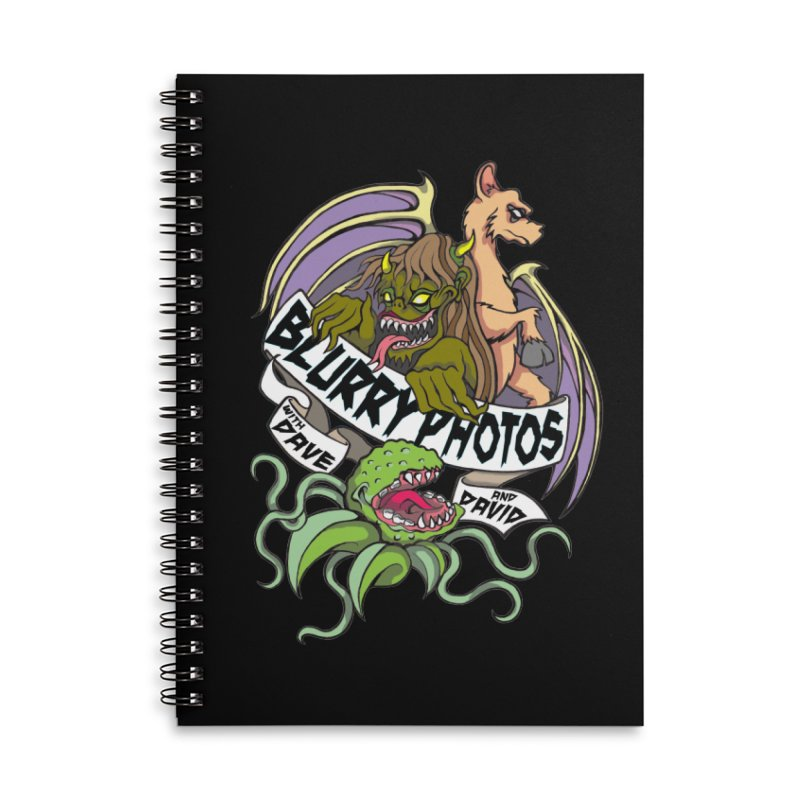 Color Logo Accessories Lined Spiral Notebook by Blurry Photos's Artist Shop
