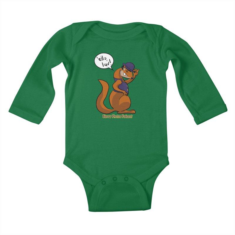 Gef Kids Baby Longsleeve Bodysuit by Blurry Photos's Artist Shop
