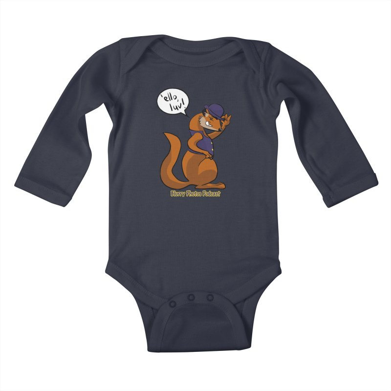 Gef Kids Baby Longsleeve Bodysuit by Blurry Photos's Artist Shop