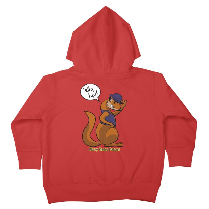 Gef Kids Toddler Zip-Up Hoody by Blurry Photos's Artist Shop