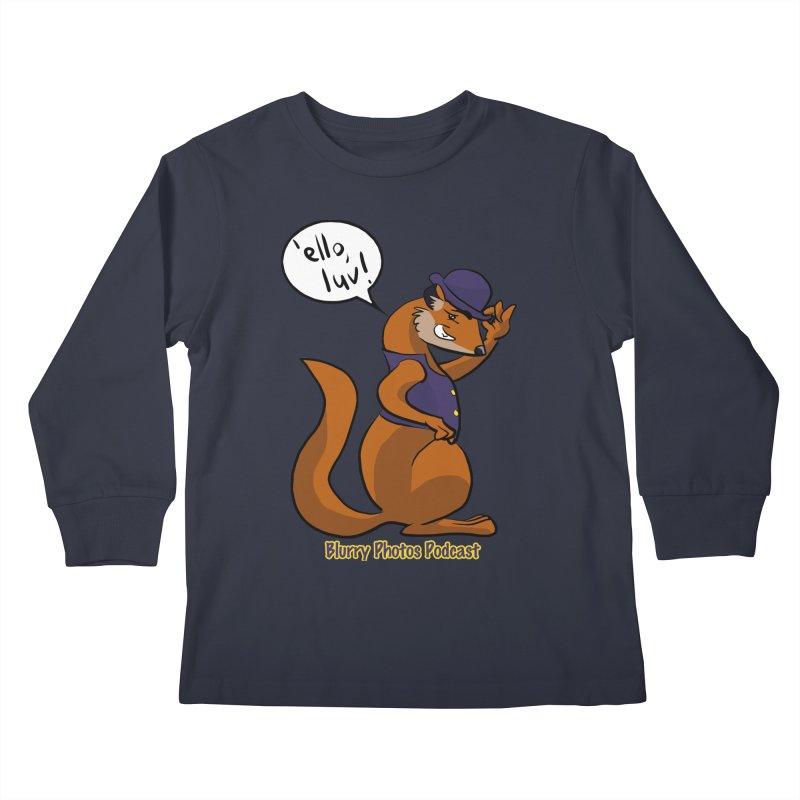 Gef Kids Longsleeve T-Shirt by Blurry Photos's Artist Shop