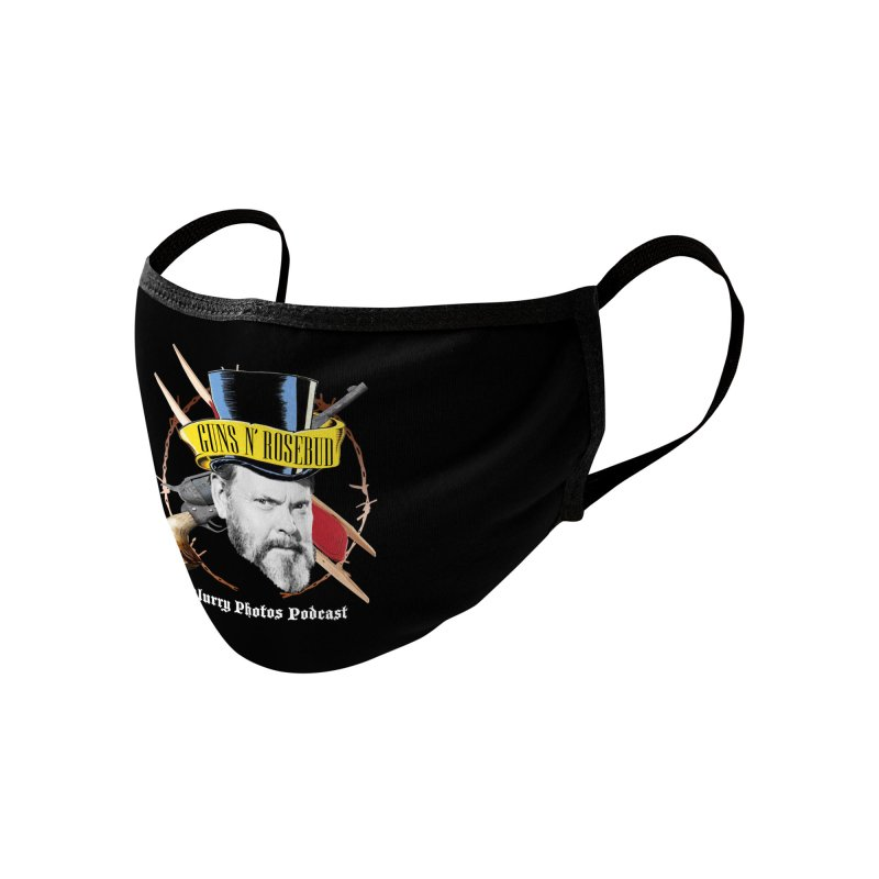 Guns 'n Rosebud Accessories Face Mask by Blurry Photos's Artist Shop