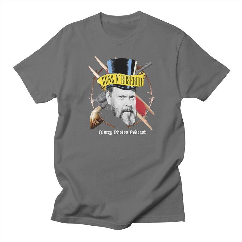 Guns 'n Rosebud Men's T-Shirt by Blurry Photos's Artist Shop