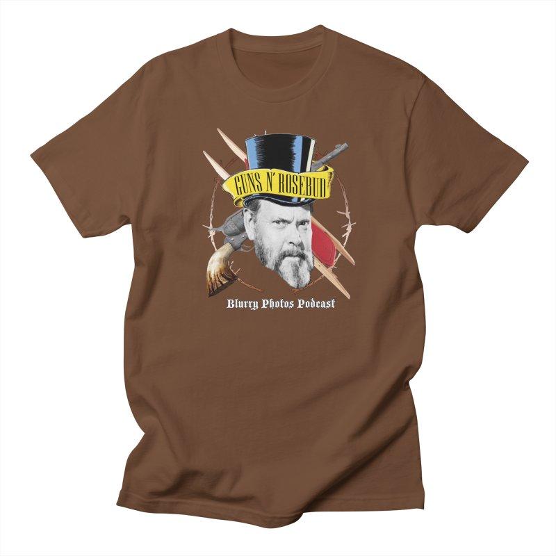Guns 'n Rosebud Men's Regular T-Shirt by Blurry Photos's Artist Shop