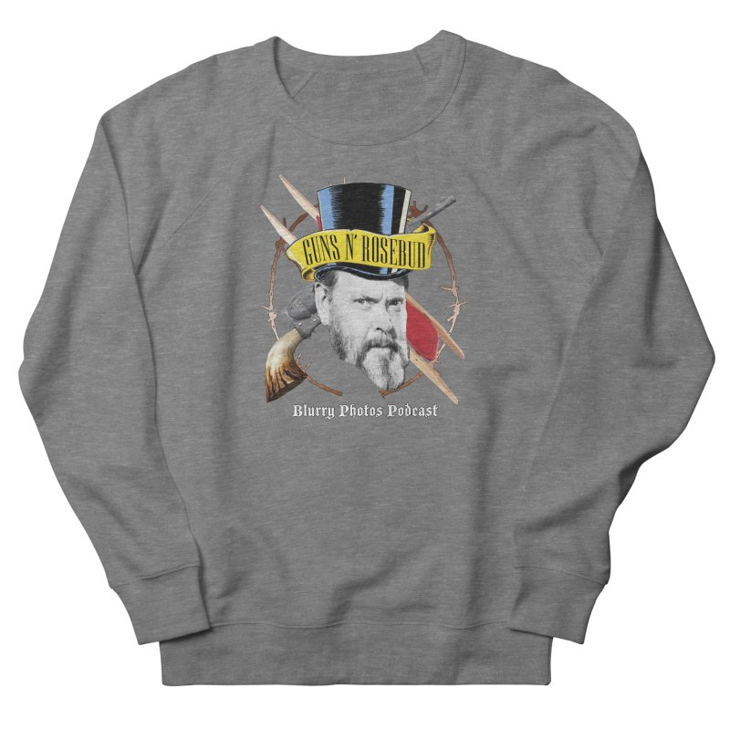 Guns 'n Rosebud Men's French Terry Sweatshirt by Blurry Photos's Artist Shop