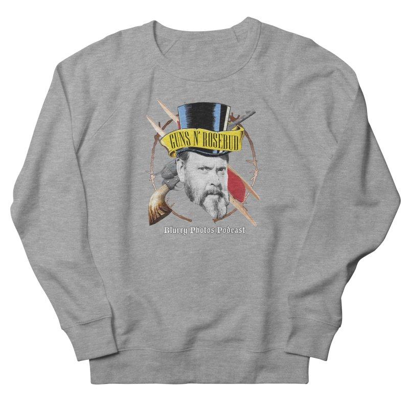 Guns 'n Rosebud Men's French Terry Sweatshirt by Blurry Photos's Artist Shop