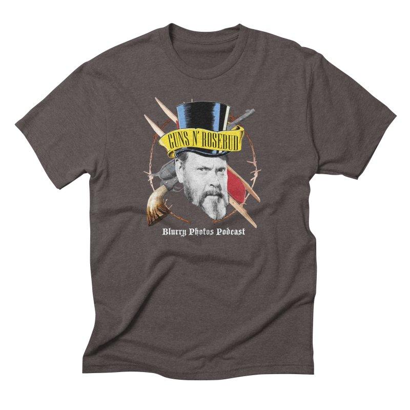 Guns 'n Rosebud Men's Triblend T-Shirt by Blurry Photos's Artist Shop