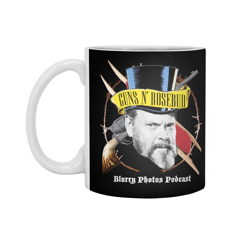 Guns 'n Rosebud Accessories Standard Mug by Blurry Photos's Artist Shop