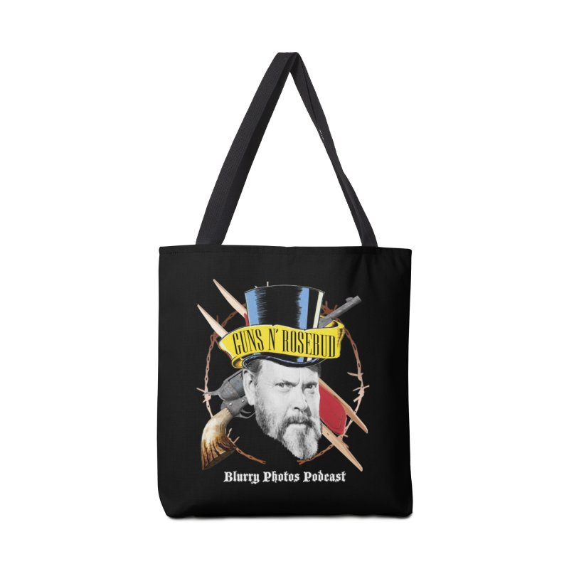 Guns 'n Rosebud Accessories Tote Bag Bag by Blurry Photos's Artist Shop