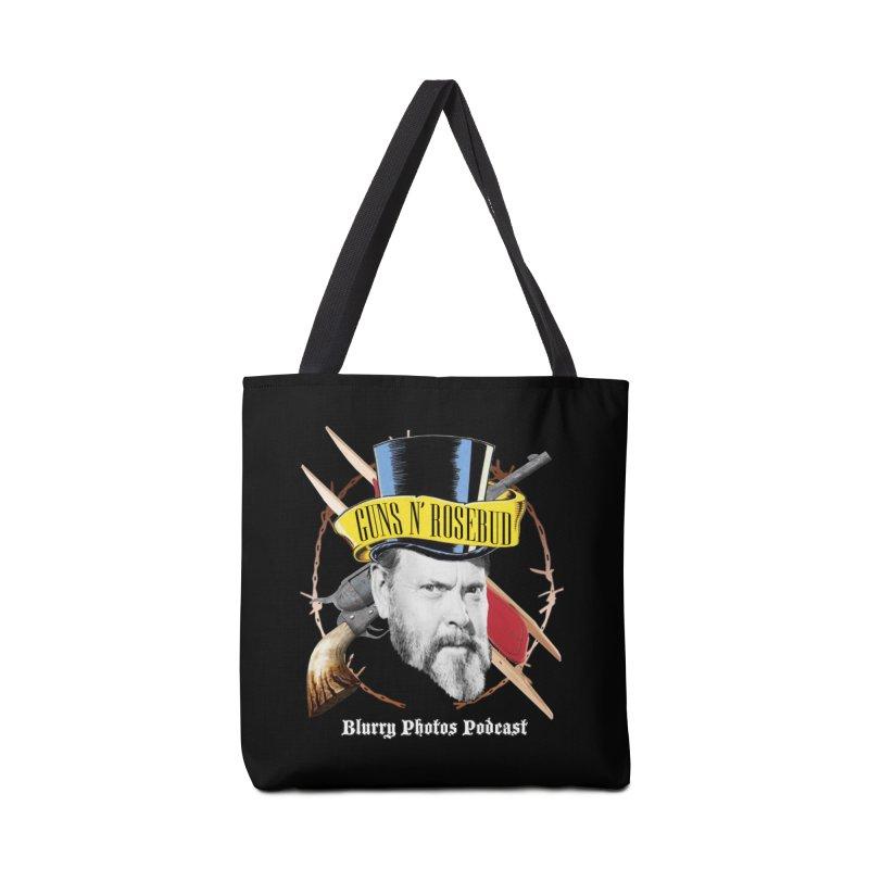 Guns 'n Rosebud Accessories Bag by Blurry Photos's Artist Shop