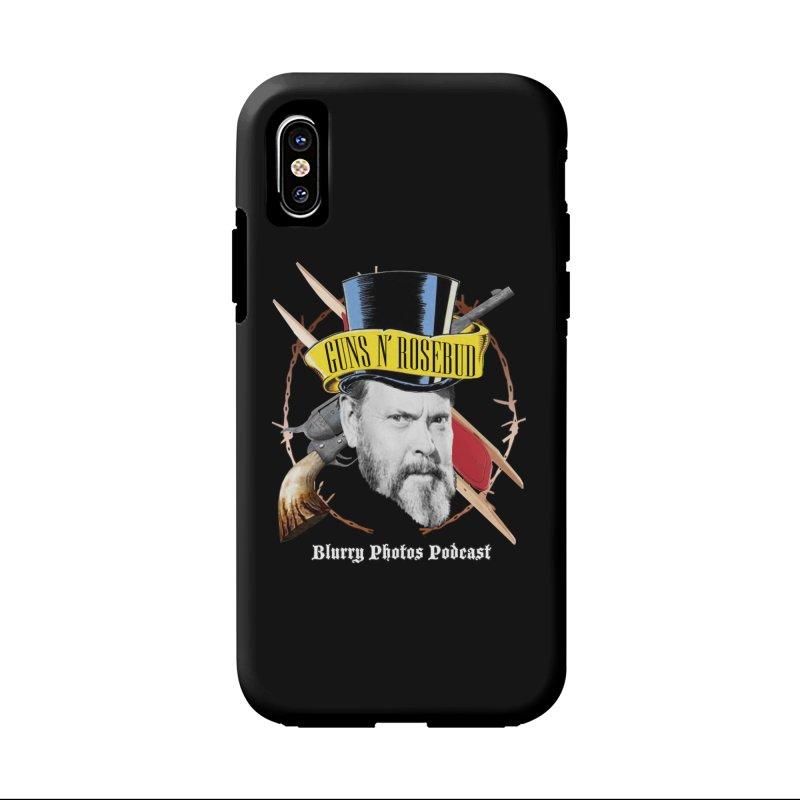 Guns 'n Rosebud Accessories Phone Case by Blurry Photos's Artist Shop