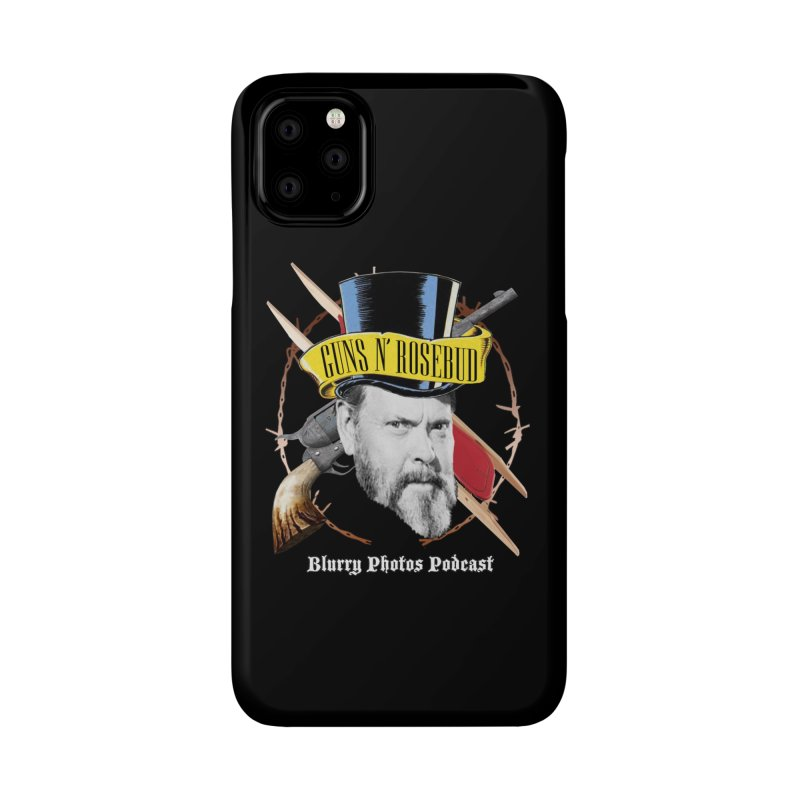 Guns 'n Rosebud Accessories Phone Case by Blurry Photos's Artist Shop