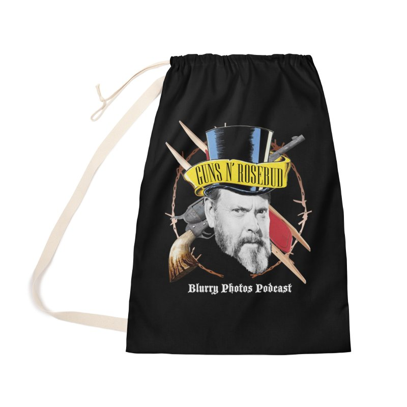 Guns 'n Rosebud Accessories Bag by Blurry Photos's Artist Shop