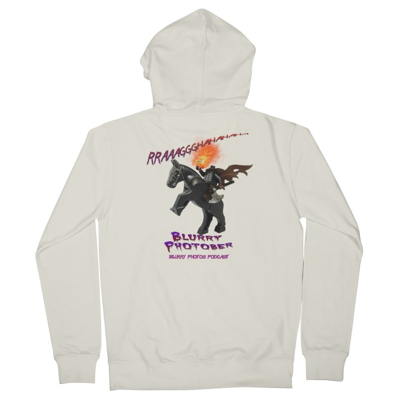 Blurry Photober Women's French Terry Zip-Up Hoody by Blurry Photos's Artist Shop