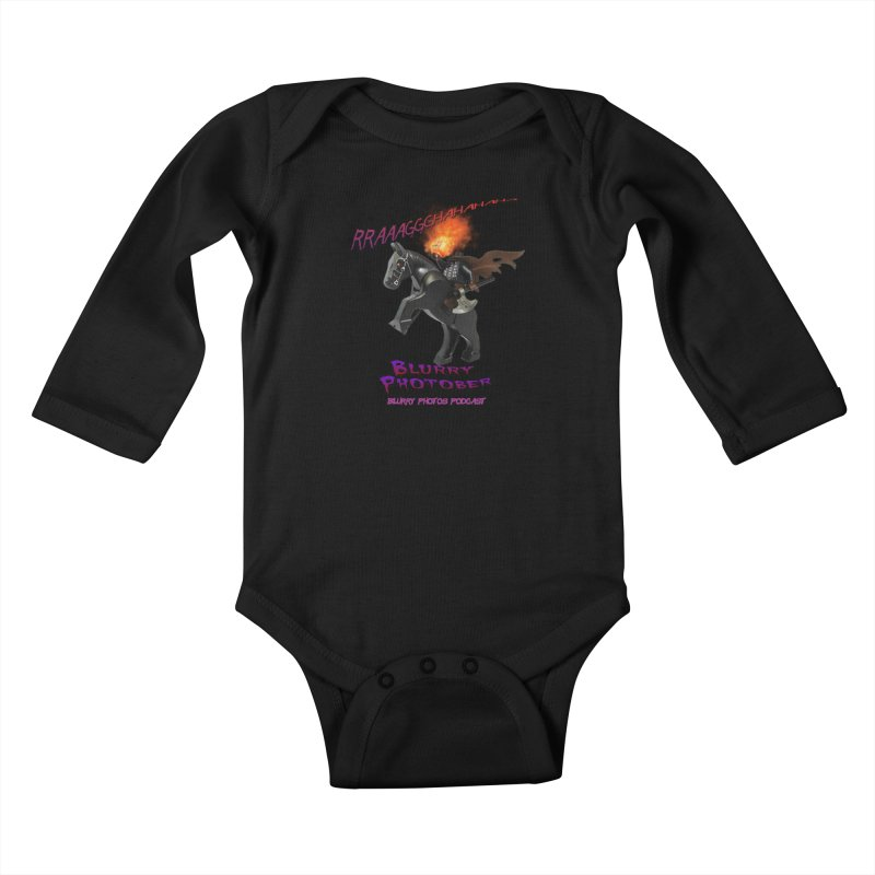 Blurry Photober Kids Baby Longsleeve Bodysuit by Blurry Photos's Artist Shop