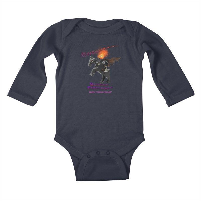 Blurry Photober Kids Baby Longsleeve Bodysuit by Blurry Photos's Artist Shop