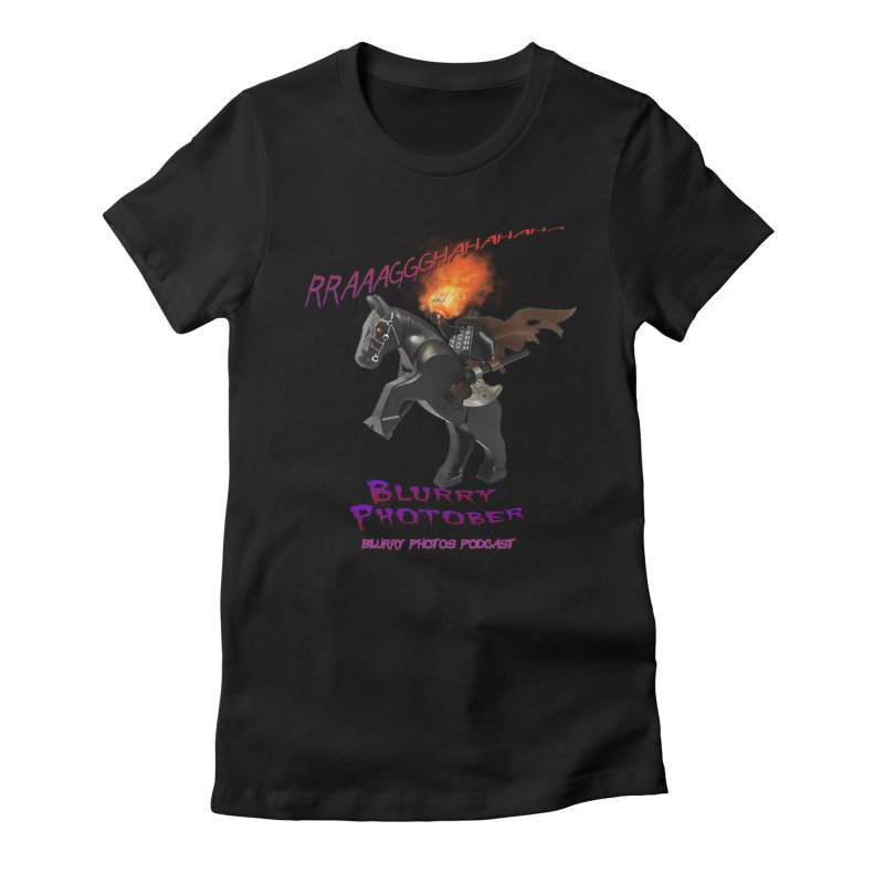 Blurry Photober Women's Fitted T-Shirt by Blurry Photos's Artist Shop