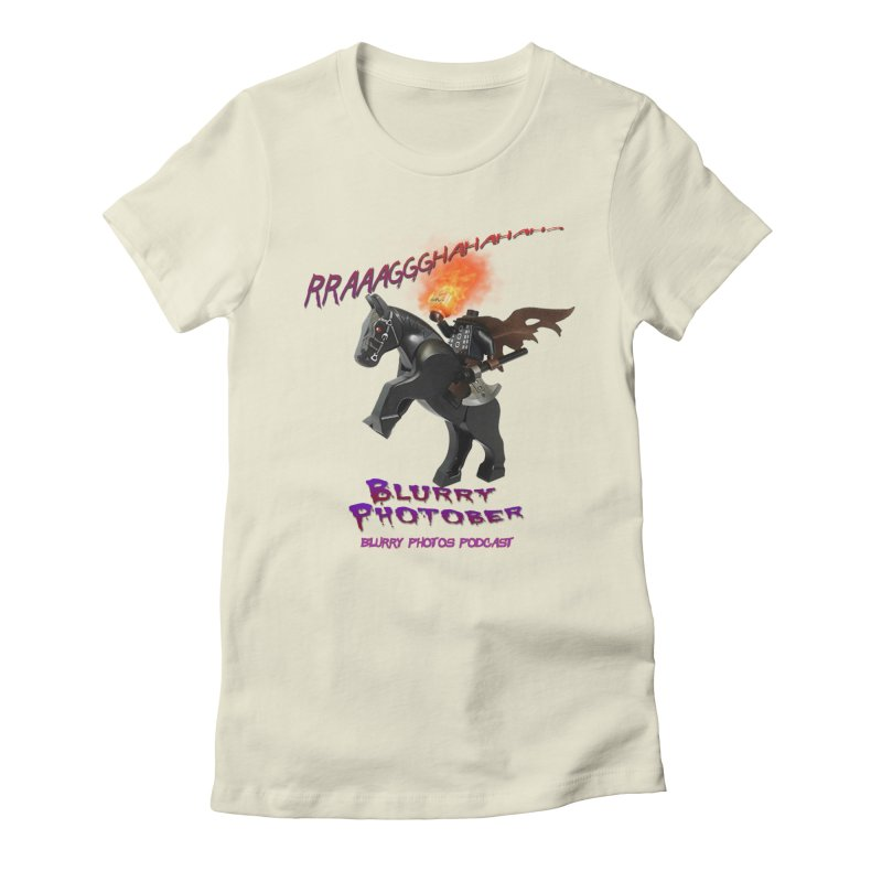 Blurry Photober Women's Fitted T-Shirt by Blurry Photos's Artist Shop