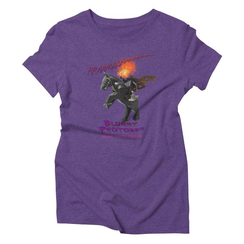 Blurry Photober Women's Triblend T-Shirt by Blurry Photos's Artist Shop