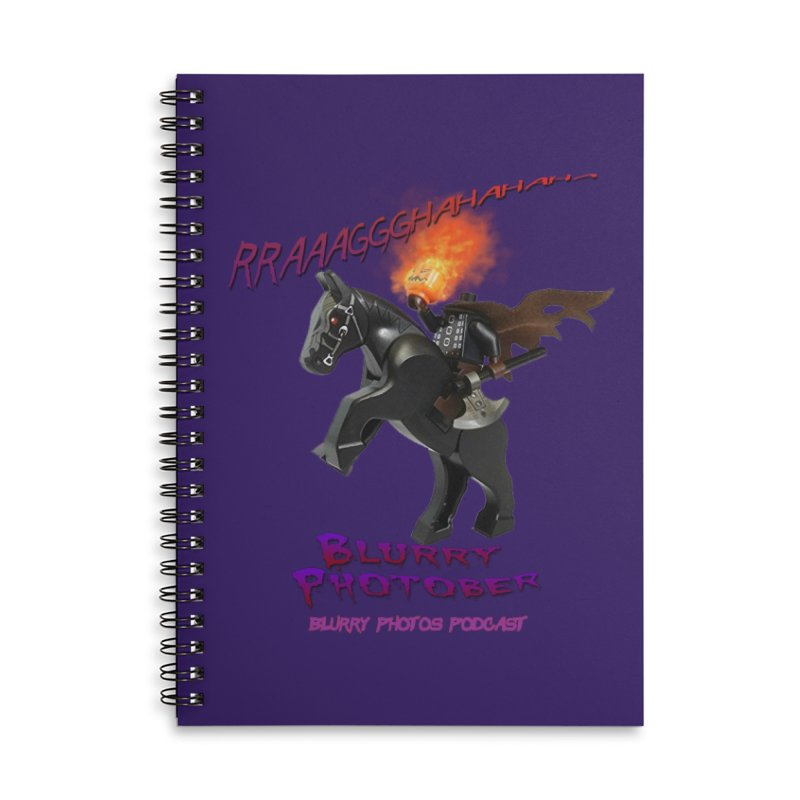 Blurry Photober Accessories Lined Spiral Notebook by Blurry Photos's Artist Shop