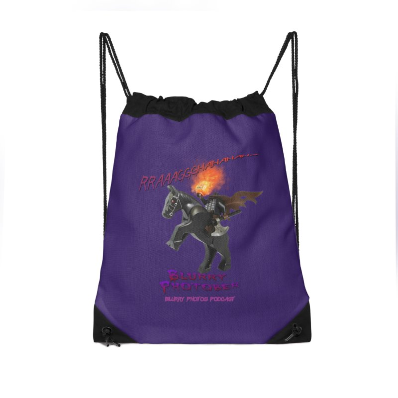 Blurry Photober Accessories Drawstring Bag Bag by Blurry Photos's Artist Shop