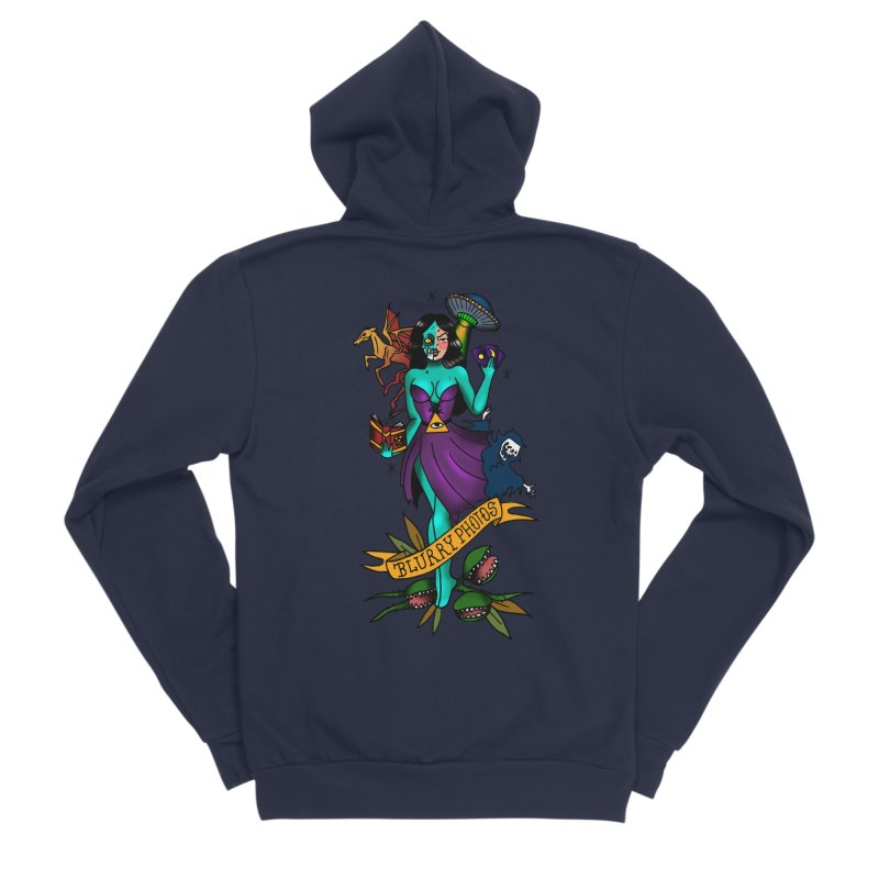 Banshee Women's Zip-Up Hoody by Blurry Photos's Artist Shop