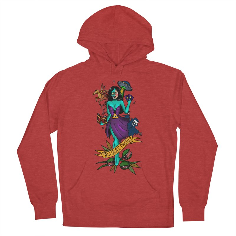 Banshee Women's French Terry Pullover Hoody by Blurry Photos's Artist Shop