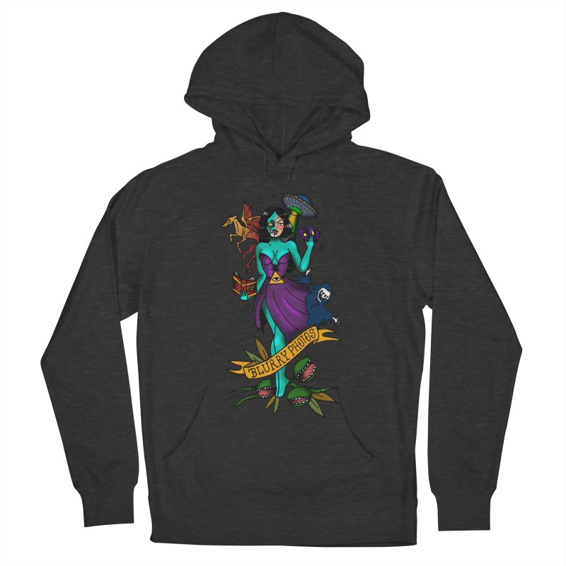 Banshee Men's French Terry Pullover Hoody by Blurry Photos's Artist Shop