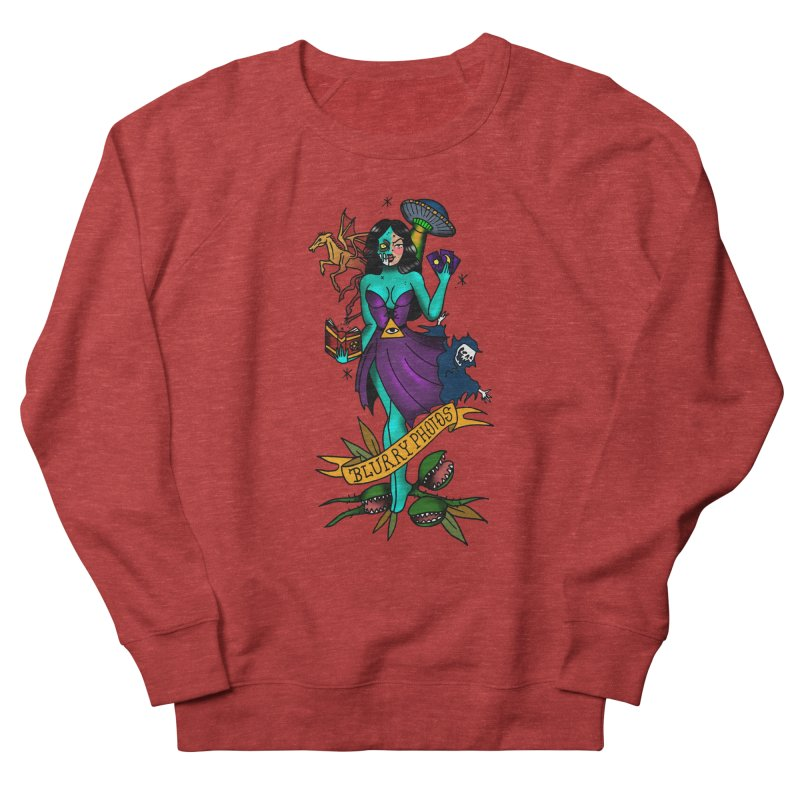 Banshee Women's French Terry Sweatshirt by Blurry Photos's Artist Shop