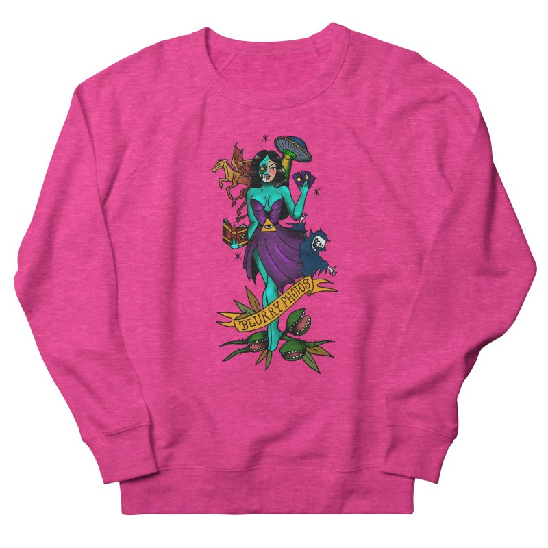 Banshee Men's French Terry Sweatshirt by Blurry Photos's Artist Shop