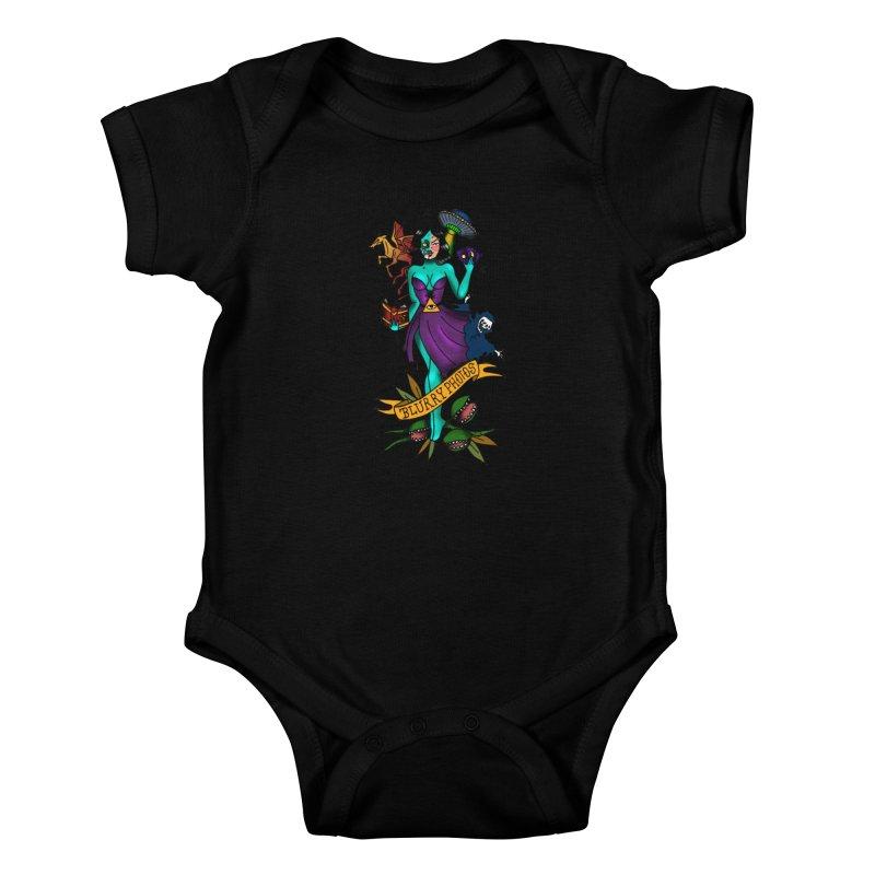 Banshee Kids Baby Bodysuit by Blurry Photos's Artist Shop