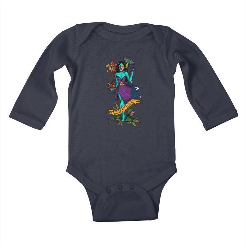 Banshee Kids Baby Longsleeve Bodysuit by Blurry Photos's Artist Shop