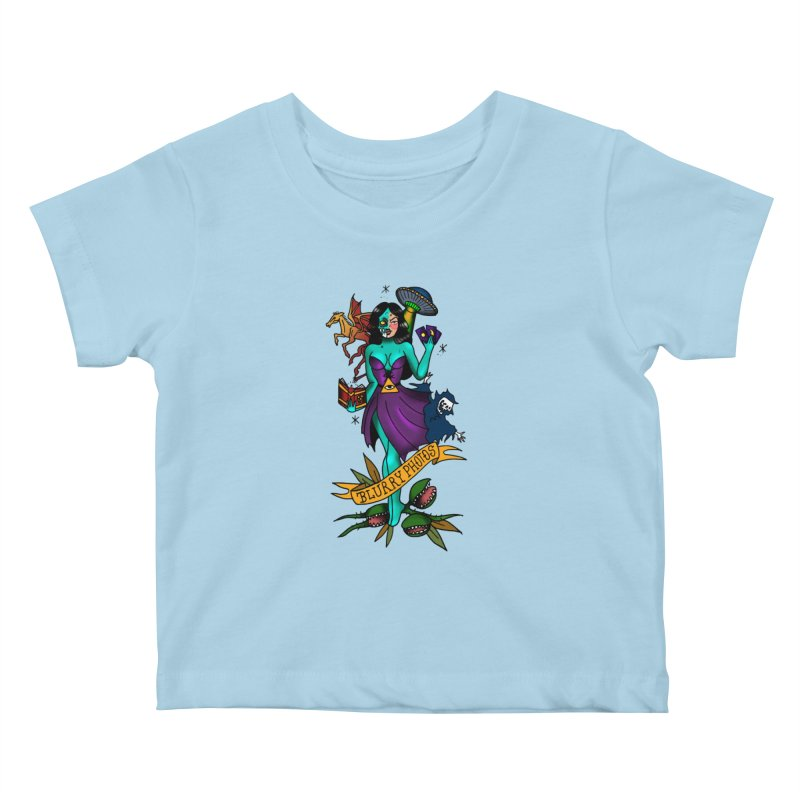 Banshee Kids Baby T-Shirt by Blurry Photos's Artist Shop