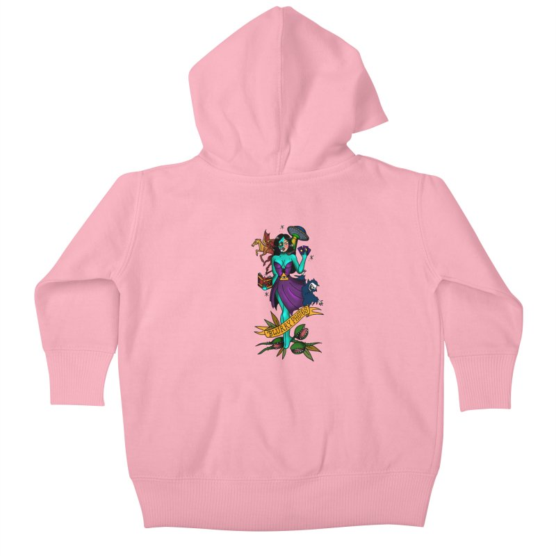 Banshee Kids Baby Zip-Up Hoody by Blurry Photos's Artist Shop