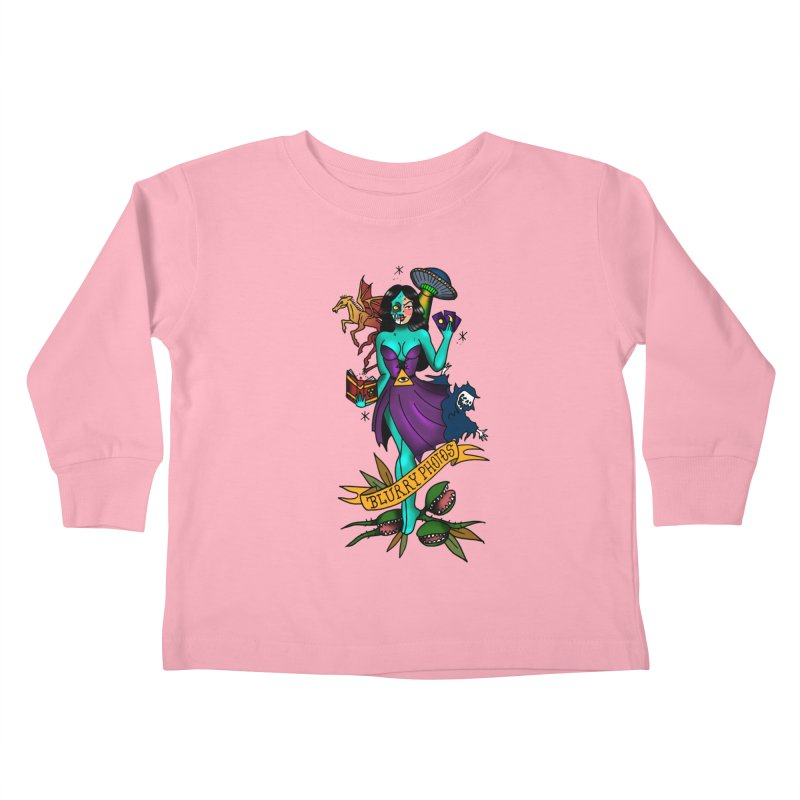 Banshee Kids Toddler Longsleeve T-Shirt by Blurry Photos's Artist Shop