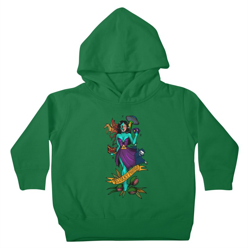 Banshee Kids Toddler Pullover Hoody by Blurry Photos's Artist Shop