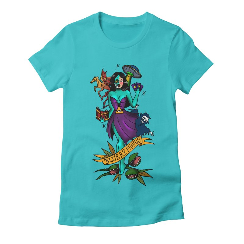 Banshee Women's Fitted T-Shirt by Blurry Photos's Artist Shop