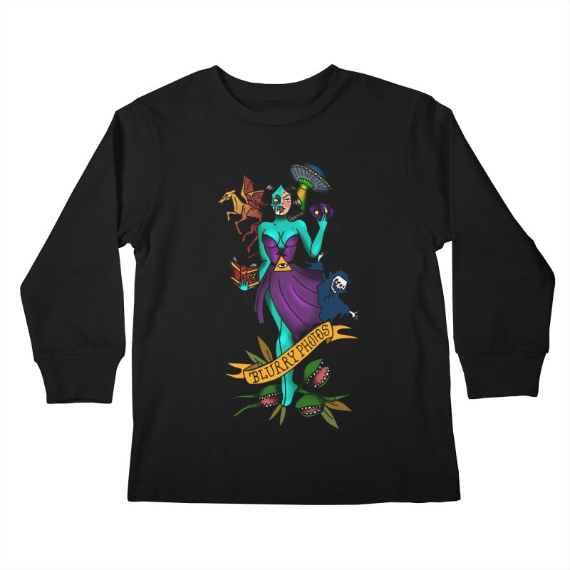 Banshee Kids Longsleeve T-Shirt by Blurry Photos's Artist Shop