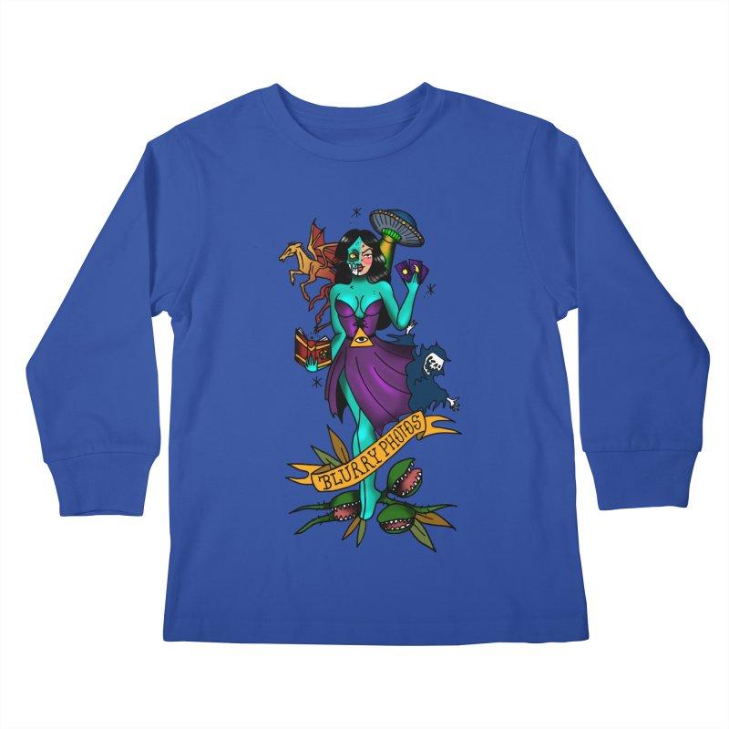 Banshee Kids Longsleeve T-Shirt by Blurry Photos's Artist Shop
